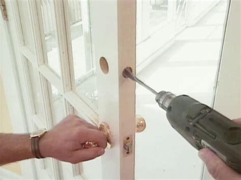 How To Install A Deadbolt Lock  Howtos Diy