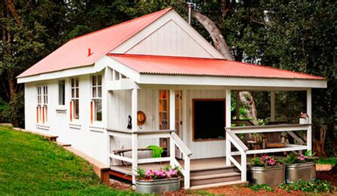 una casita de campo en  campamento de verano