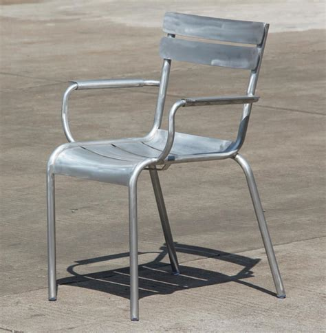 aluminum outdoor dining chairs outdoor dining side chair