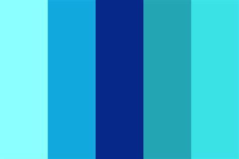 aquamarine color su aquamarine color palette