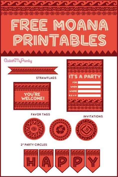 moana birthday party ideas catch  party