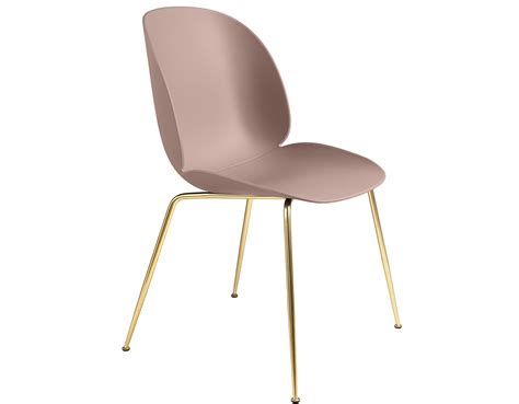 beetle dining chair with conic base hivemodern