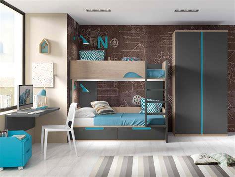 lit superpose bureau lit superpos 233 avec bureau pour 2 enfants glicerio so nuit