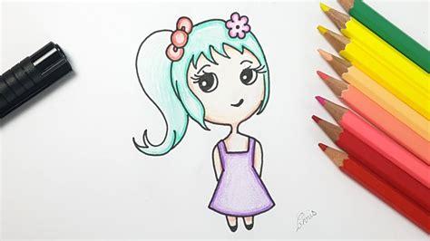 dessin facile comment dessiner une fille