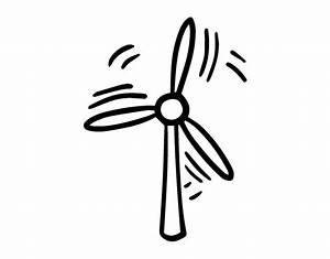 farm windmill coloring page coloring pages With wind power