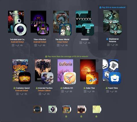 android bundle humble pc android bundle 12 3 jeux de plus dans le