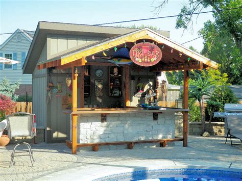 Outdoors Bar : Custom Outdoor Bars And Grills