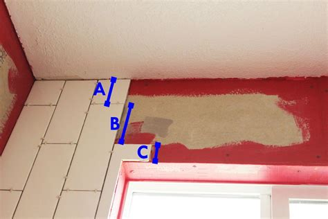 how to tile a shower tub surround part 1 laying the tile