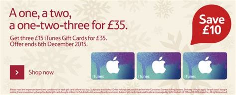 heads up get three 163 15 itunes gift cards for 163 35 stack 150 clubcard bonus points on 163 50 gift