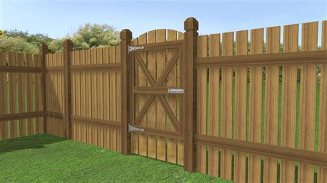 Fence - Gate : Steps (with Pictures)-wikihow
