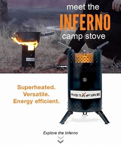 Stove Instafire Fire Pellets Camping Outdoor Starter