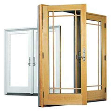 series frenchwood gliding patio door sample     home depot   deck