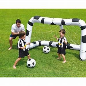 But Foot Enfant : but gonflable foot football ballon jeu enfant jardin ~ Teatrodelosmanantiales.com Idées de Décoration