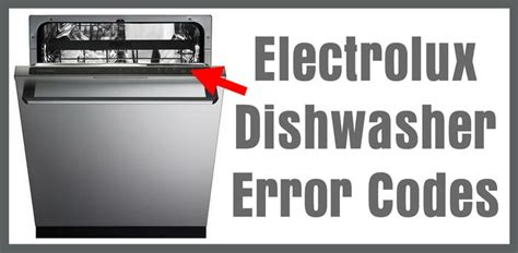 electrolux dishwasher air dry and delay lights electrolux dishwasher error codes how to clear what to