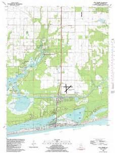 Gulf Shores Alabama Coast Map
