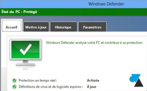 windows 8 icone bureau désinstaller mcafee norton et activer windows defender