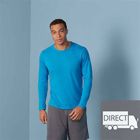 gildan  performance adult long sleeve  shirt tsc