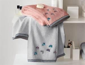 Linge De Toilette Ikea : linge de toilette perles de ros e linvosges ~ Teatrodelosmanantiales.com Idées de Décoration