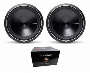 Pair Of Rockford Fosgate 15 U0026quot  Punch P3 2400w Dual 2 Ohm