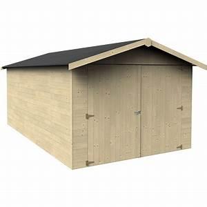 Garage Bois Pas Cher : garage bois genech 12 36 m pas cher prix auchan ~ Dailycaller-alerts.com Idées de Décoration