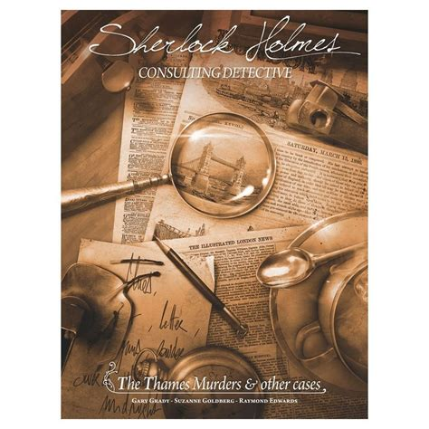 detective board consulting sherlock holmes game games sh cooperative