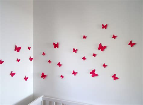 d oration papillon chambre fille impressionnant decoration chambre fille papillon avec