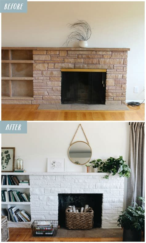 white fireplace paint lessons from a white painted fireplace makeover the