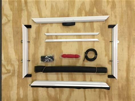 custom heavy duty sliding patio screen door kit