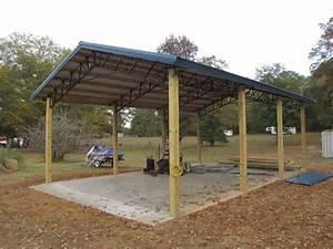 Metal pole barns 20 x 30 pole barn with steel truss for 20 x 30 pole barn