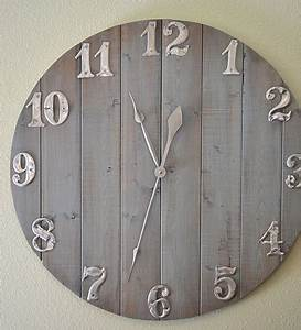 How to craft a wall clock out of leftover wood scraps for How to make a wall clock with pictures
