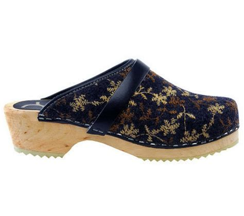 Cape Clogs Wooly Clogs — Qvccom