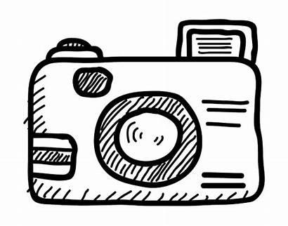 Camera Dibujo Coloring Reflex Camara Pages Camara