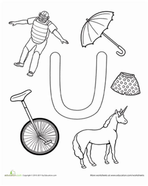 u is for worksheet education 696 | the alphabet letter u preschool
