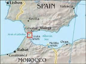 Is Strait Of Gibraltar On World Map in addition Strait Of Gibraltar ...  Gibraltar