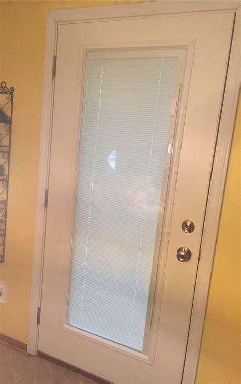 door with blinds inside entry doors integrity windows