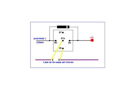 solucionado como conectar relay de alarma y disparadores yoreparo