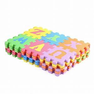 36pcs set puzzle carpet baby play mat foam alphabet number With foam letter playmat