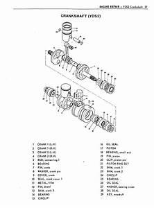 1962 305 Yamaha Twins Service Manual Ym1 Yd3 Yds2