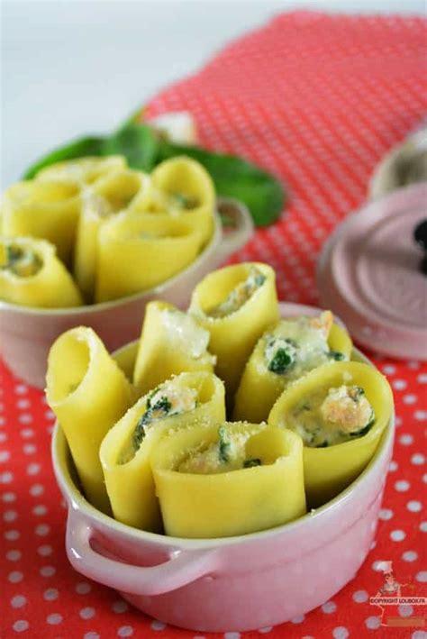 pates aux epinards et saumon paccheri farcis aux 233 pinards et saumon recette italienne