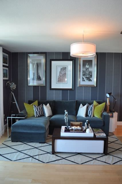 wall for bachelor pad living room bachelor pad makeover contemporary living room miami by nicole white designs inc