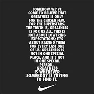Nike Motivational Quotes - The Top 10 - Wild Child Sports