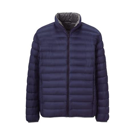 uniqlo jacket uniqlo premium ultra light jacket in blue for