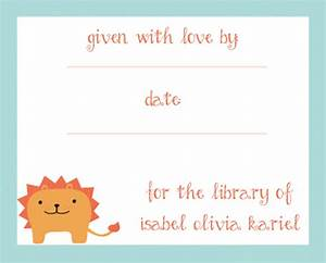 make your own bookplates the obsessive crafter With bookplate templates for word