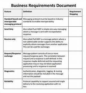 Sample business requirements document 6 free documents for Document management system business requirements