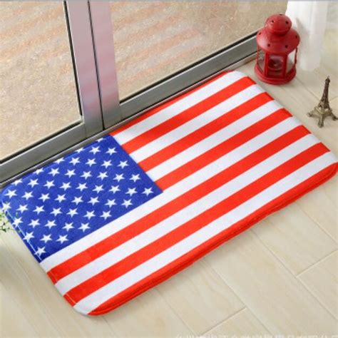 flag doormat usa australia flag mat soft antislip floor mat carpet