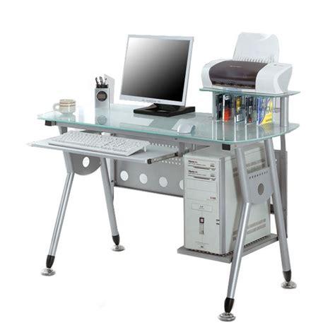 sixbros bureau informatique sixbros computertisch tisch glastisch schreibtisch glas