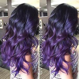 TRANSFORMATION: Royal Sombre - Career | Purple balayage ...