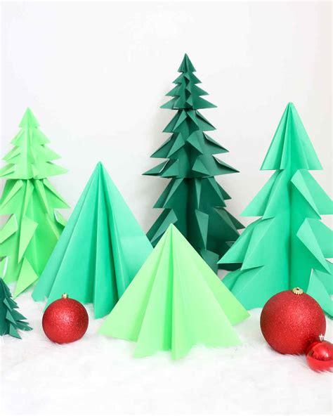 origami christmas trees origami trees