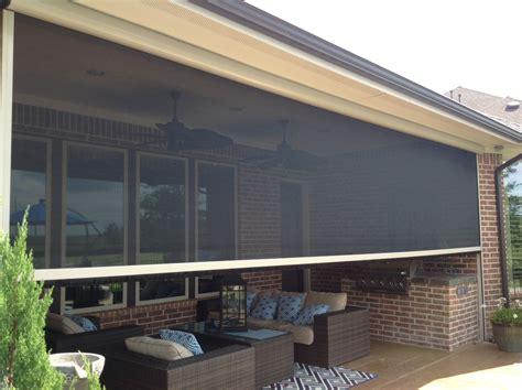 houston tx motorized retractable screens solar screens
