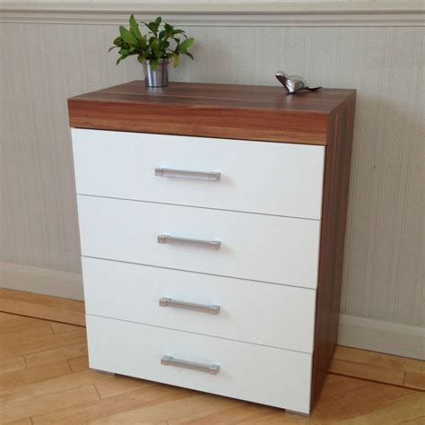 chest   drawers  white walnut bedroom furniture